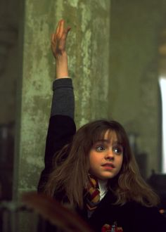 Hermione Granger. Loves knowledge and not afraid to show it.