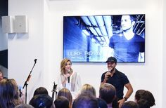 Luke Bryan Photos Photos - In celebration of Samsung's Galaxy S6 edge+ and Galaxy Note5, TV personality Erin Andrews hosts an intimate Q&A with Luke Bryan and his fans before he gives an acoustic performance of his new album, Kill the Lights, at the Samsung Galaxy Studio in Soho. - Samsung Celebrates the Unveiling of the Galaxy S6 edge+ and Galaxy Note5