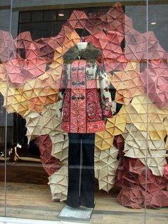Anthropologie Window Display    Winter 2010