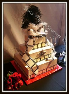 Movies & hollywood themed cake