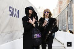 Street Style Looks from Day 1 of NYFW 2016