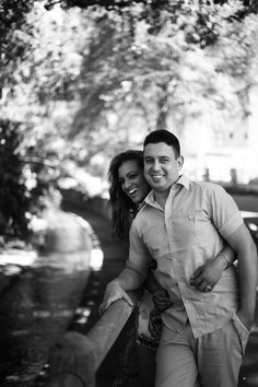 Black and white couple shoot