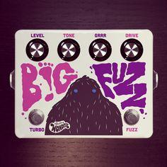 pedal effect, fuzz, put a drum machine threw this tr 808 sounds fantastic