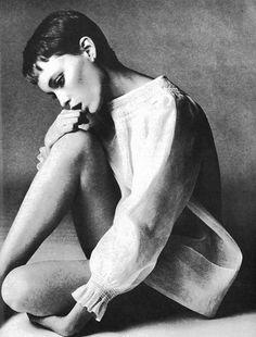 Mia Farrow, 1960s.