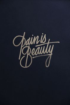 Golden lettering / collection '13 by Ricardo Gonzalez
