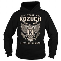 Team KOZUCH Lifetime Member - Last Name, Surname T-Shirt #name #tshirts #KOZUCH #gift #ideas #Popular #Everything #Videos #Shop #Animals #pets #Architecture #Art #Cars #motorcycles #Celebrities #DIY #crafts #Design #Education #Entertainment #Food #drink #Gardening #Geek #Hair #beauty #Health #fitness #History #Holidays #events #Home decor #Humor #Illustrations #posters #Kids #parenting #Men #Outdoors #Photography #Products #Quotes #Science #nature #Sports #Tattoos #Technology #Travel…