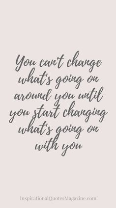 Inspirational Quote about Life and Change - Visit us at InspirationalQuotesMagazine.com for the best inspirational quotes!
