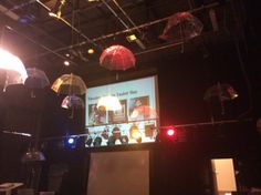 Lighting and Umbrellas! Theatre Design, Umbrellas, How To Find Out, Activities, Lighting, Day, Model, Lights