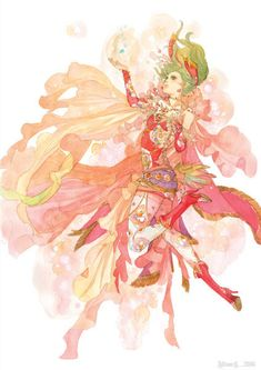 a-forgotten-garden: Terra Branford from Final Fantasy VI AlbumB:2004-2011 by sakizo