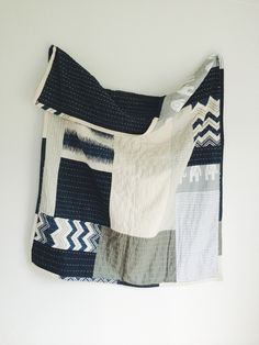 Image of quilted patchwork throw