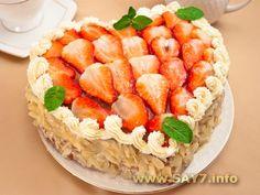 Торт Сердце (коржи)