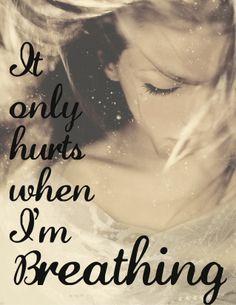 It only hurts when i'm breathing lyrics by shania twain