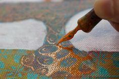 Quels sont les avantages de travailler sur une série de peintures