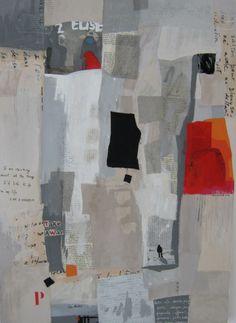 """""""Passages"""" Techniques mixtes 2012 Véronïk Beaucé"""