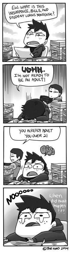 Mondo Mango :: In Denial | Tapastic Comics - image 1