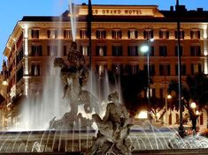 Ashlyn, this is where we're staying in Rome!  The St. Regis Rome (Italy) -