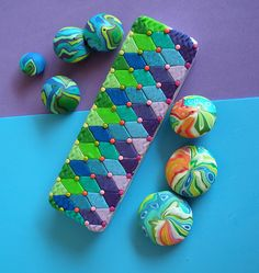 beads by klio1961, via Flickr This website has some great polymer clay ideas!