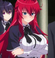 #High_school_of_Devil #DxD #Akeno_Himejima #Rias_Gremory