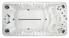 Vita Spa xStream Swim Spa XL4 Cascade Water, Water Features, Spas, Bathtub, Swimming, American, Water Sources, Standing Bath, Swim