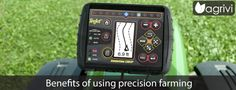 Benefits of using precision #farming: producing more with less   #Agrivi