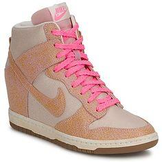 Nike DUNK SKY HI VNTG Beige / Rosa