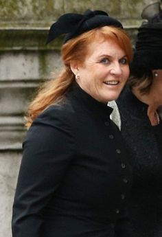 April 2013 Sarah, Duchess of York was invited to the funeral of the former prime minister. Fergie has been persona non grata at events attended by the Queen and the Duke of Edinburgh since she divorced the Duke of York in 1996 Sarah Duchess Of York, Duke And Duchess, Princess Beatrice, Princess Eugenie, Beatrice Eugenie, Queen And Prince Phillip, The Iron Lady, Eugenie Of York, Margaret Thatcher