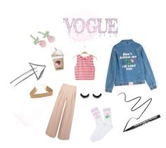 Yeah Bunny Rose by ellesdi on Polyvore featuring moda, Antipodium, Big Bud Press and Too Faced Cosmetics