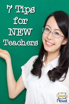 7 HOT Tips for New Teachers!
