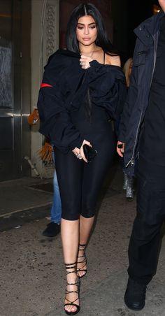 Kylie Jenner Style, Black Shorts, Peplum Dress, Goth, Mini Skirts, Dresses, Type, Fashion, Gothic