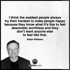 The saddest people...