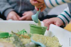 Como colorir arroz e atividades com arroz colorido | How to color rice and Rice Activities