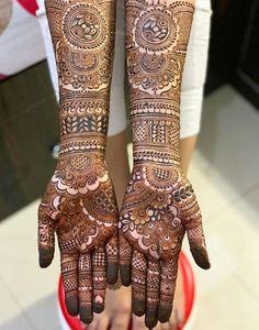 Henna Hand Designs, Mehndi Designs Finger, Wedding Henna Designs, Engagement Mehndi Designs, Latest Bridal Mehndi Designs, Legs Mehndi Design, Full Hand Mehndi Designs, Mehndi Designs 2018, Mehndi Designs For Girls