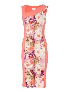 Asymmetrical Dress Multi-colour