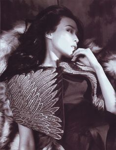 — lelaid: Shu Qi by Lachlan Bailey for Vogue...