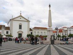 The city of Vila Real de Santo António Algarve Portugal