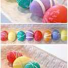 Baking Soda Easter Eggs - Easter Ornaments