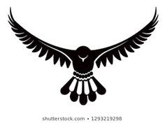 Pigeon or dove, white bird . Vector logo template or isolated symbol icon of peace freedom or post mail delivery and tattoo Native Art, Native American Art, Pigeon Logo, Pigeon Tattoo, Cute Pigeon, Falcon Tattoo, Tattoo Collection, Eagle Images, Eagle Drawing