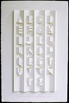 Ronald King's Alphabet Poster