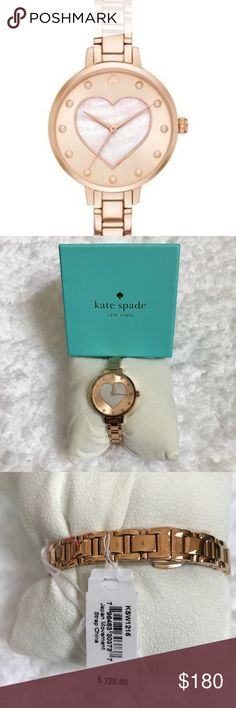 Kate Spade Heart Face Great gift will not last brand new kate spade Accessories Watches