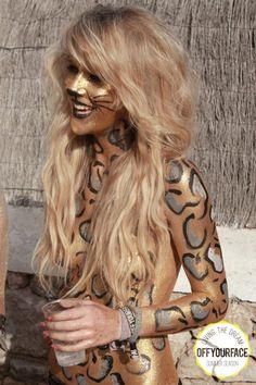 ibiza animal face paint - Google Search