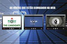 Os vídeos que estão bombando na web