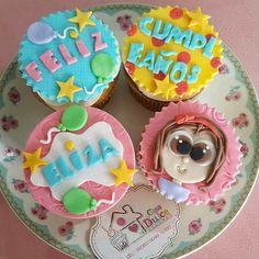 #cupcakes #fondant