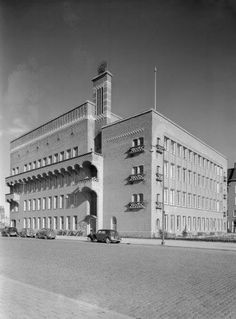 Oogziekenhuis Rotterdam (1950) Rotterdam, Dutch Netherlands, Holland, My House, Louvre, Architecture, World, City, Building