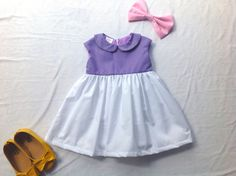 **This dress is made to order.Please allow up 1 week and shipping time take about 10-25 days from Thailand.**  Daisy duck dress made from 100%