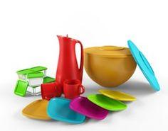 Plastic Objects 3D Model