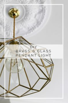 Eeeek! Oh my god, I am so excited. As you know, I've been looking at replacing my kitchen lighting for probably – I don't even know – two years? More? It's been a while. The problem was that I kept seeing these gorgeous brass lights that were just completely out of budget seeing as I …