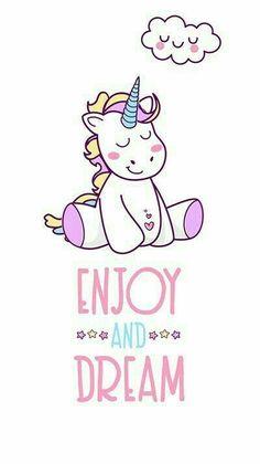 Imagem de unicorn, Dream, and rainbow