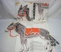 Pin the Tail on the Donkey.  Played at EVERY birthday party.