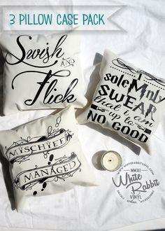 Harry Potter Pillow Case 3-Pack