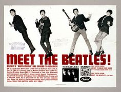 Meet the Beatles! This is a promotional brochure from 1963 and was written by the band's first PR manager, Tony Barrow.